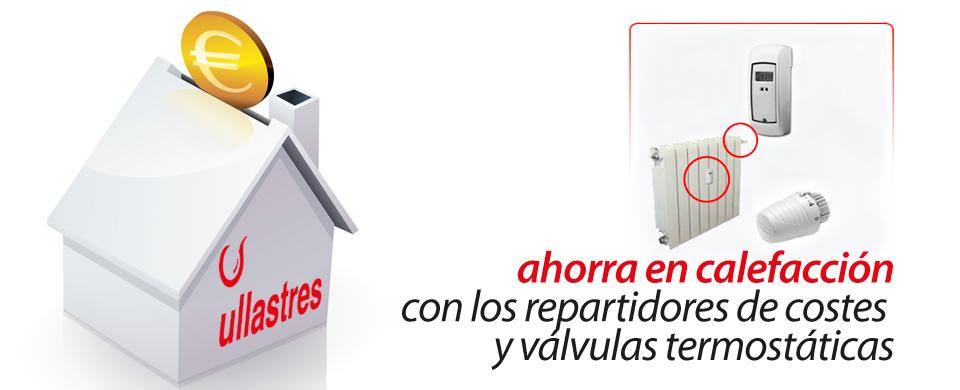 Ahorrar en calefacción gracias a los repartidores de costes y válvulas