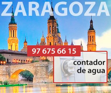 Contadores de agua en Zaragoza