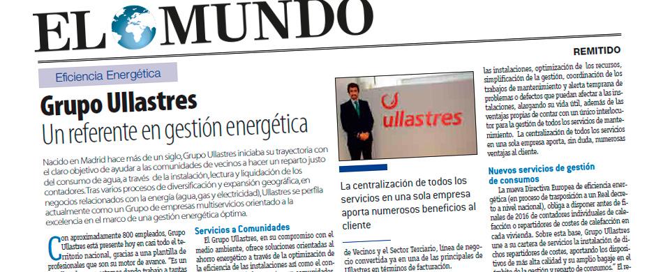 GrupoUllastres Un referente en gestión energética