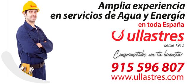 Ullastres lleva más de 100 años de experiencia dando servicios de Gas y Agua en toda España