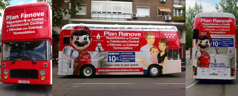 plan renove repartidores de costes de calefacción Madrid