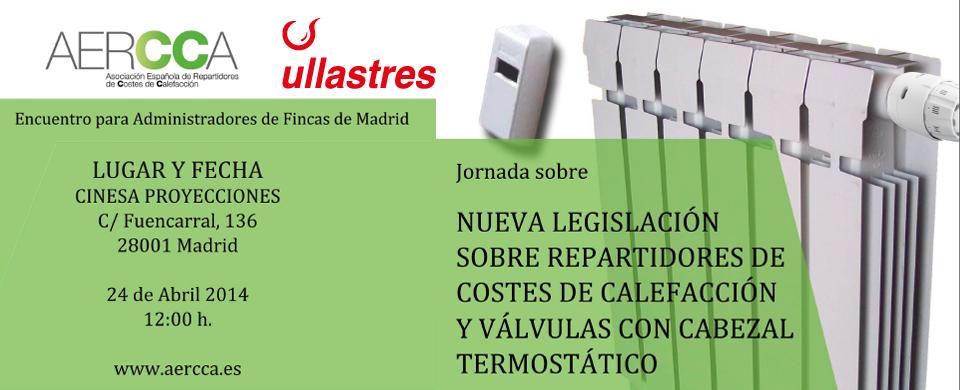 jornada informativa instalación de repartidores de costes Madrid